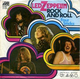 Led Zeppelin Rock n Roll single