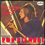 Rod Stewart Maggie May single