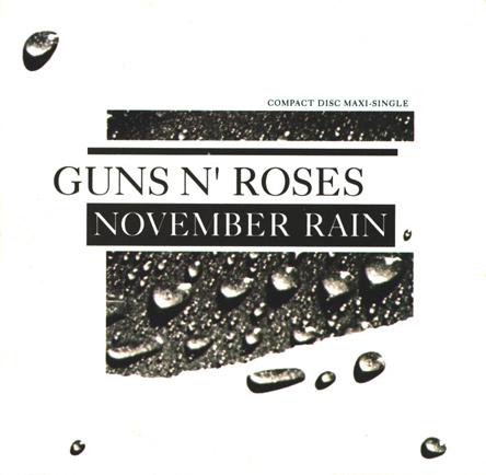 GnR November Rain single