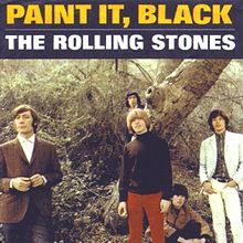 Rolling Stones Paint It Black single