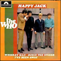 The Who Happy Jack single