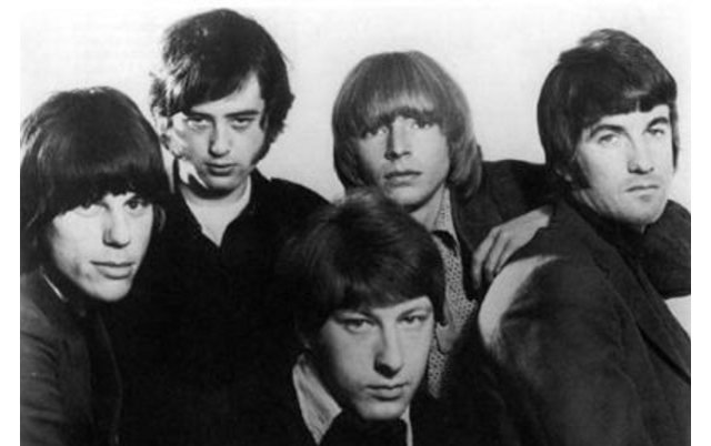 The Yardbirds in 1966