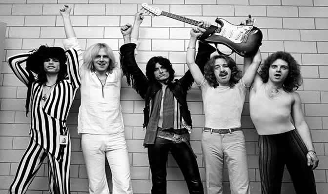 Aerosmith in 1976
