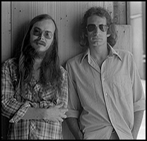 Walter Becker and Donald Fagen in 1977