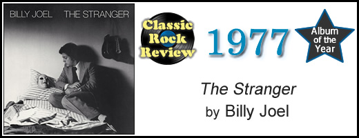 The Stranger by Billy Joel, 1977 Album of the Year