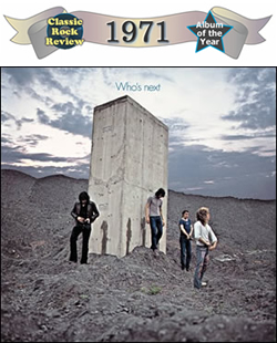 Whos Next by the Who, 1971 Album of the Year