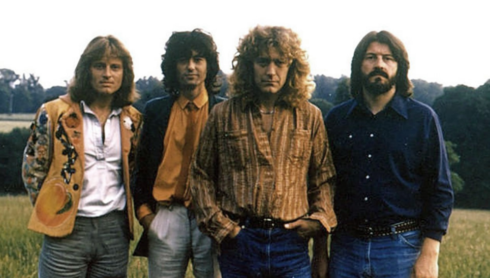 Led Zeppelin in 1979