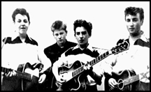 The Quarrymen in 1958