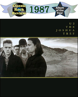 The Joshua Tree by U2, 1987 Album of the Year
