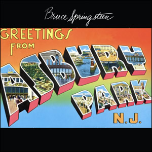 Greetings from Asbury Park NJ by Bruce Springsteen