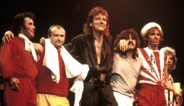 Robert Plant band 1983