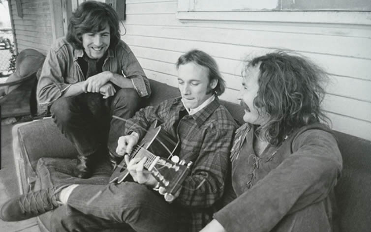 Crosby Stills and Nash in 1969