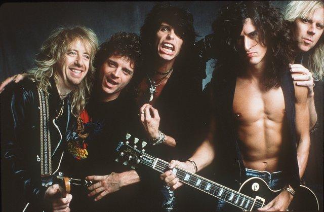 Aerosmith 1989