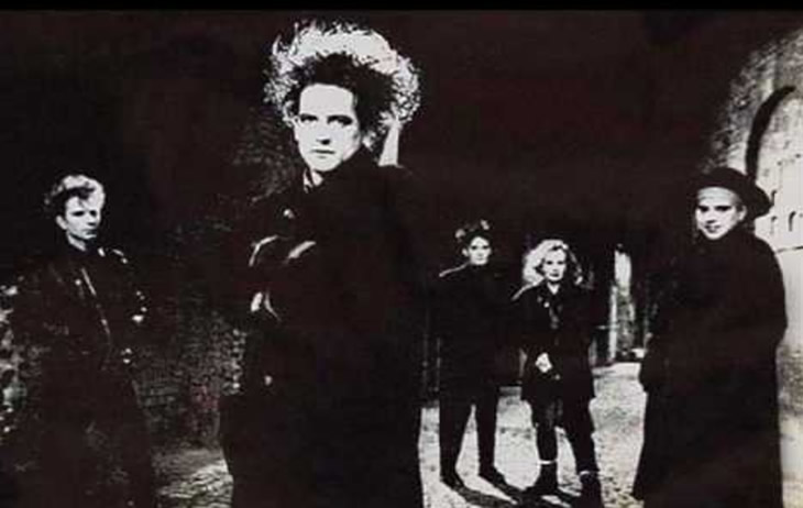The Cure in 1989