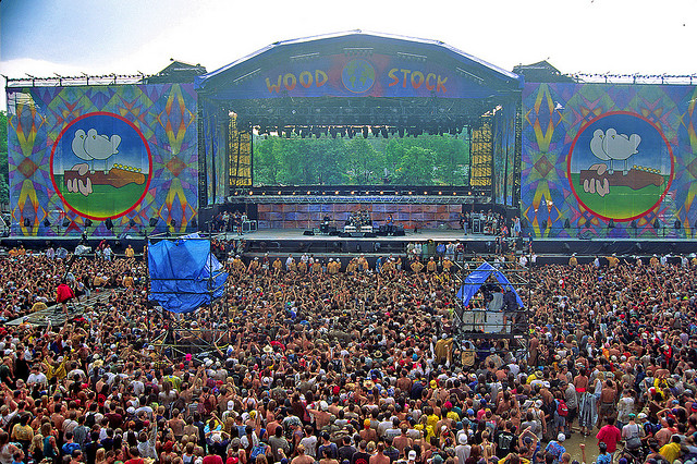 Woodstock '94 stage