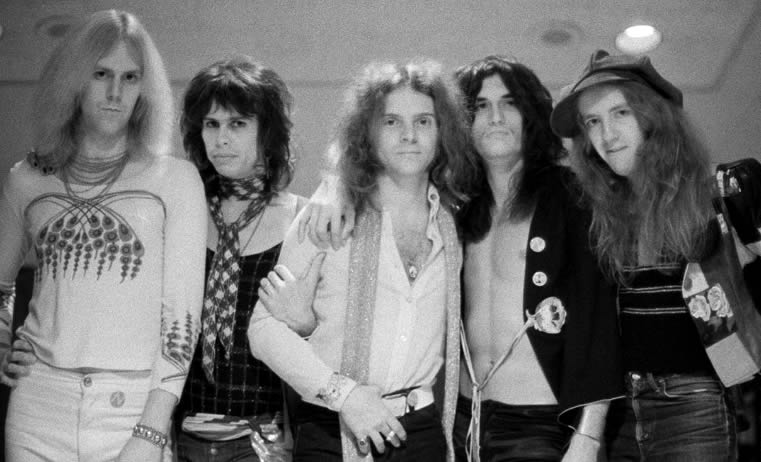 Aerosmith in 1974