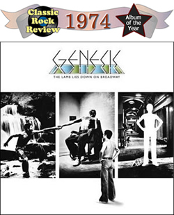 The Lamb Lies Down On Broadway by Genesis, 1974 Album of the Year