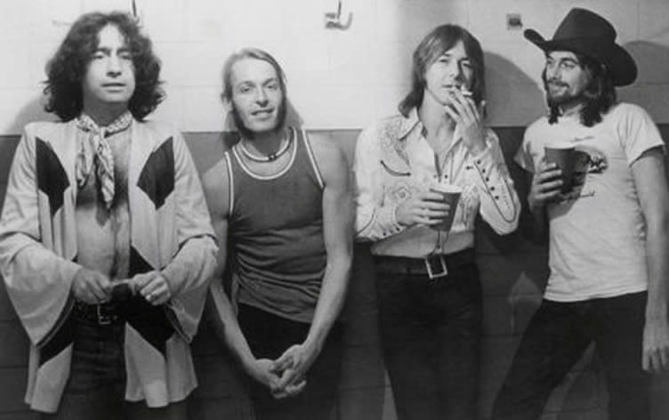 Bad Company in 1974