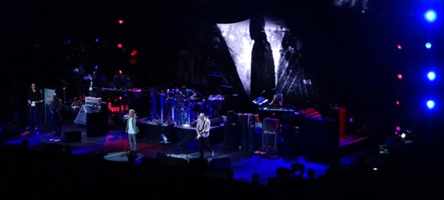 The Who at Concert for New York City