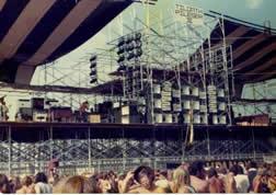 Ozark Music Festival stage
