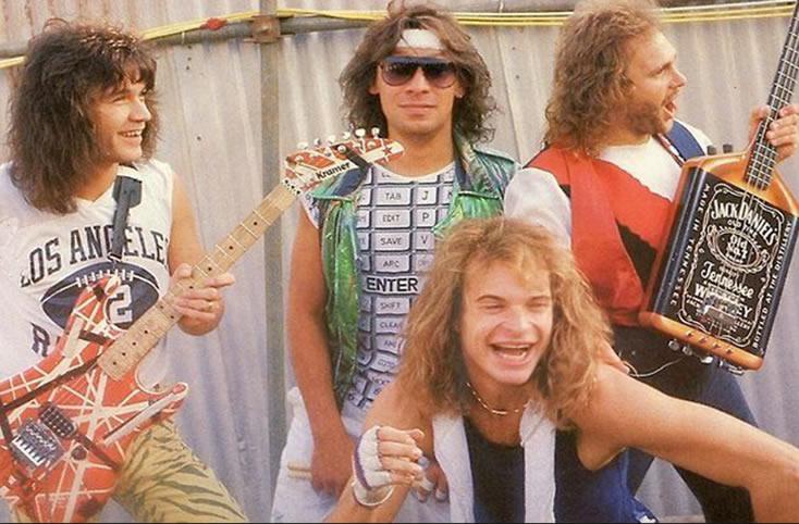 Van Halen in 1984