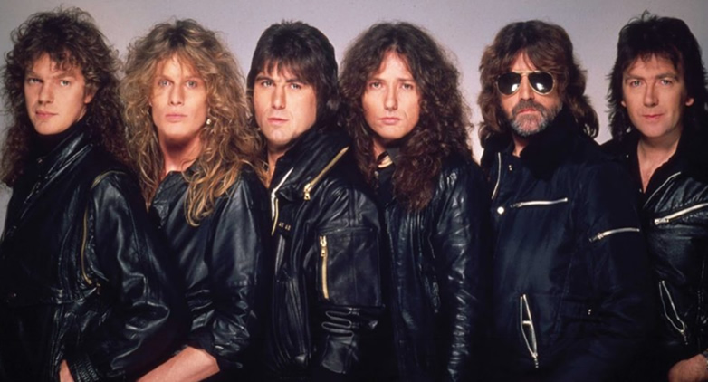 Whitesnake in 1984