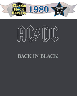Back In Black by AC-DC, 1980 Album of the Year