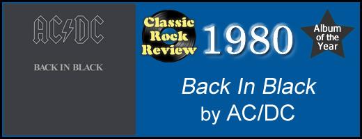 Back In Black by AC-DC, 1980 AlbumOfTheYear