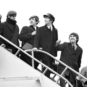 Beatles arrive in America