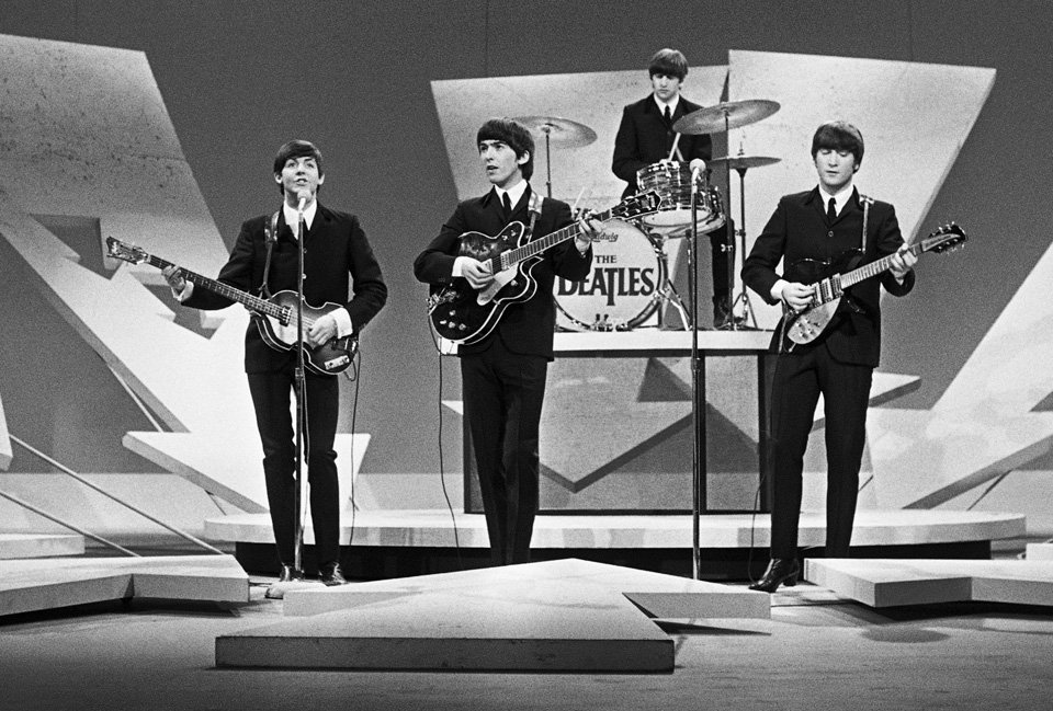 Beatles on Ed Sullivan show