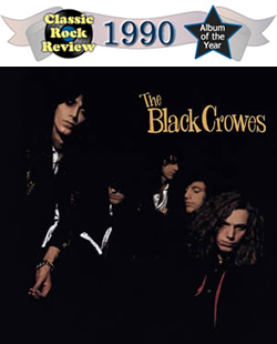 Shake Your Money Maker by Black Crowes, our 1990 album of the year