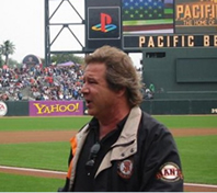 Greg Kihn at AT&T Park in San Francisco