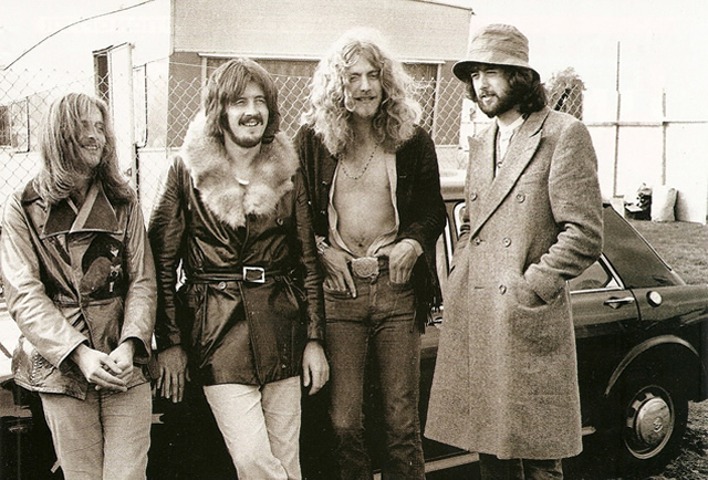 Led Zeppelin in 1970