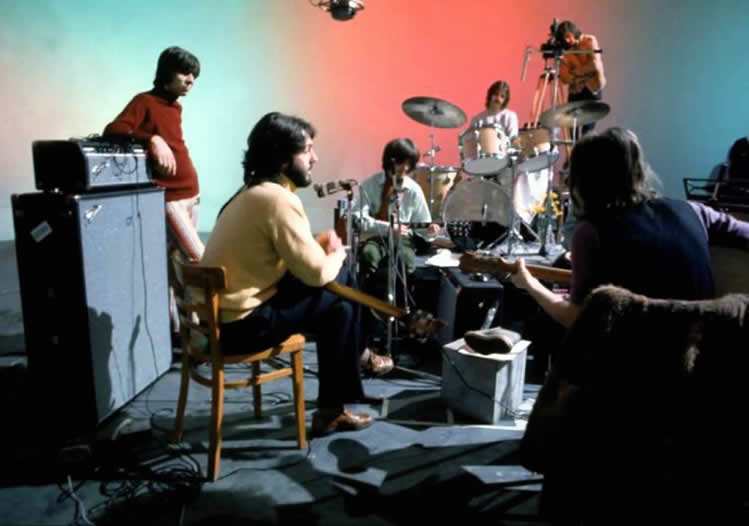 Beatles on Sound Stage 1969