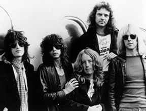 Aerosmith in 1975
