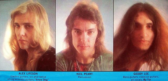 Rush in 1975