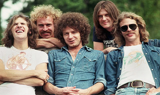 The Eagles in 1975