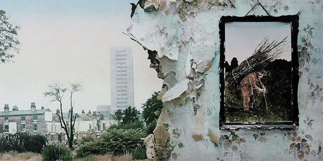 Led Zeppelin IV album unfolded