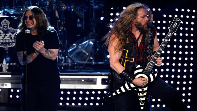 Ozzy Osbourne and Zakk Wylde-1