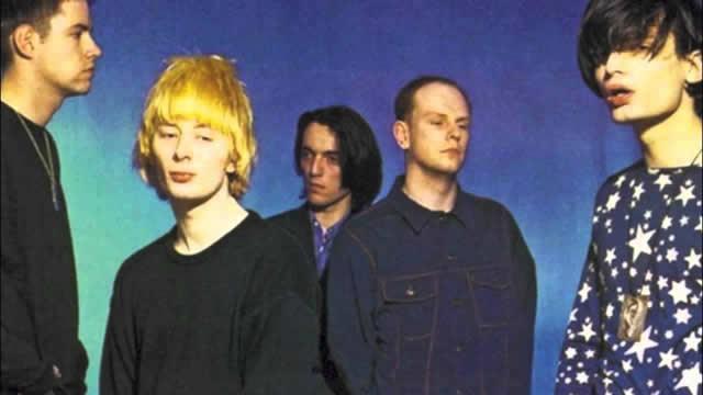 Radiohead in 1995