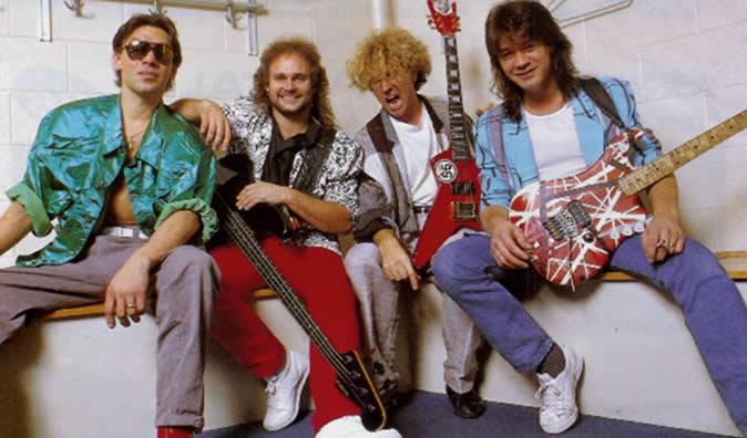 Van Halen in 1986
