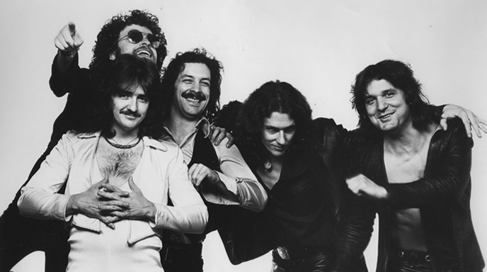 Blue Oyster Cult in1976