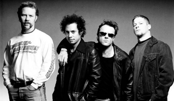 Metallica in 1996