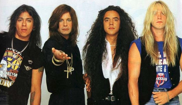 Ozzy Osbourne band-1991