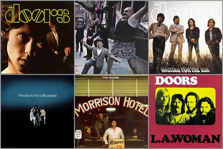 The Doors studio albums
