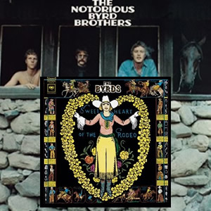The Byrds 1968 albums