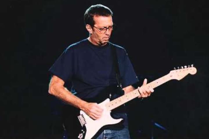 Eric Clapton in 1998