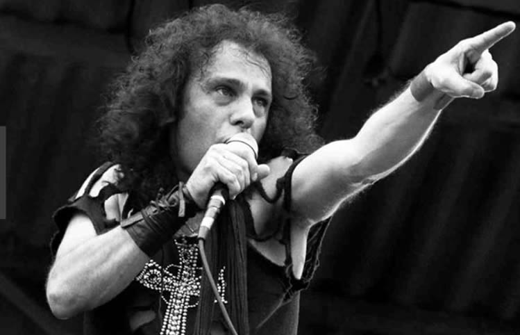Ronnie James Dio in 1983