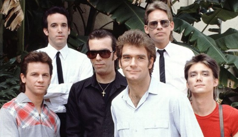 Huey Lewis and the News in 1983