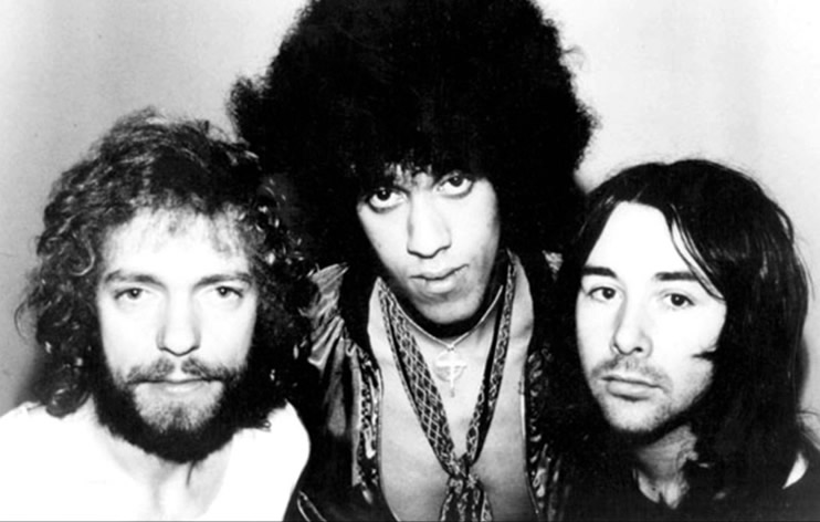 Thin Lizzy in 1973
